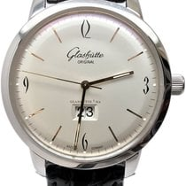 Glashütte Original Sixties Panorama Date Steel 42mm Silver No numerals United States of America, Florida