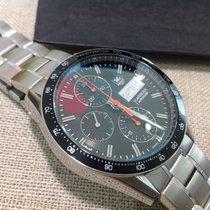 TAG Heuer Carrera Calibre 16 Steel 41mm Black No numerals