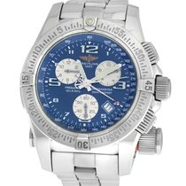 Breitling Emergency Steel 43mm Blue Arabic numerals United States of America, New York, New York