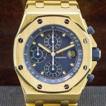 Audemars Piguet Yellow gold Automatic Arabic numerals 44mm pre-owned Royal Oak Offshore Chronograph