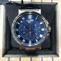 Breguet Marine White gold 42.3mm Blue Roman numerals United States of America, New York, NEW YORK