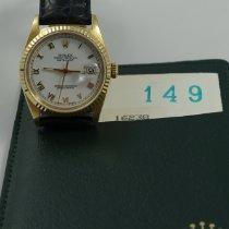 Rolex Datejust Oro giallo 36mm Nero Romano Italia