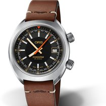 Oris Chronoris Steel 39mm Black