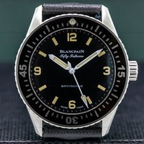 Blancpain Steel 38mm Automatic 5100-1110-63 pre-owned
