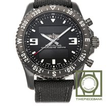 Breitling Chronospace Military Acier 46mm Noir Arabes