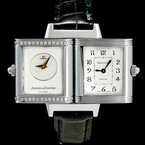 Jaeger-LeCoultre 266.8.44 Steel 2011 Reverso Duetto 21mm pre-owned
