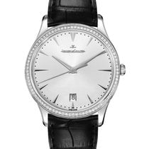 Jaeger-LeCoultre White gold Automatic Silver No numerals 40mm new Master Ultra Thin Date