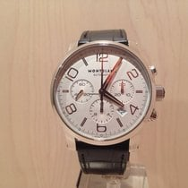 Montblanc Timewalker Steel 43mm Silver Arabic numerals