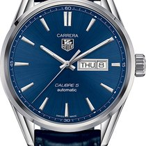 TAG Heuer Carrera Calibre 5 new Automatic Watch with original box and original papers WAR201E.FC6292