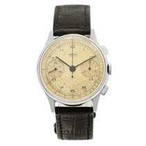 Vulcain Chronograph 36mm Manual winding 1950 pre-owned Brown