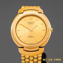 Rolex Cellini Zuto zlato 33 mm case excluding crownmm Zlatan Bez brojeva