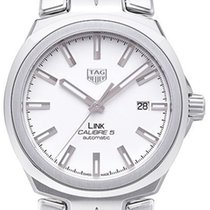 TAG Heuer Link Calibre 5 Steel 41,00mm Silver