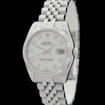 Rolex Datejust 31 - Ref.: 178274 - Edelstahl/Weissgold -...