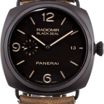 Panerai Radiomir Black Seal 3 Days Automatic Ceramic 45mm Brown Arabic numerals United States of America, New York, Greenvale