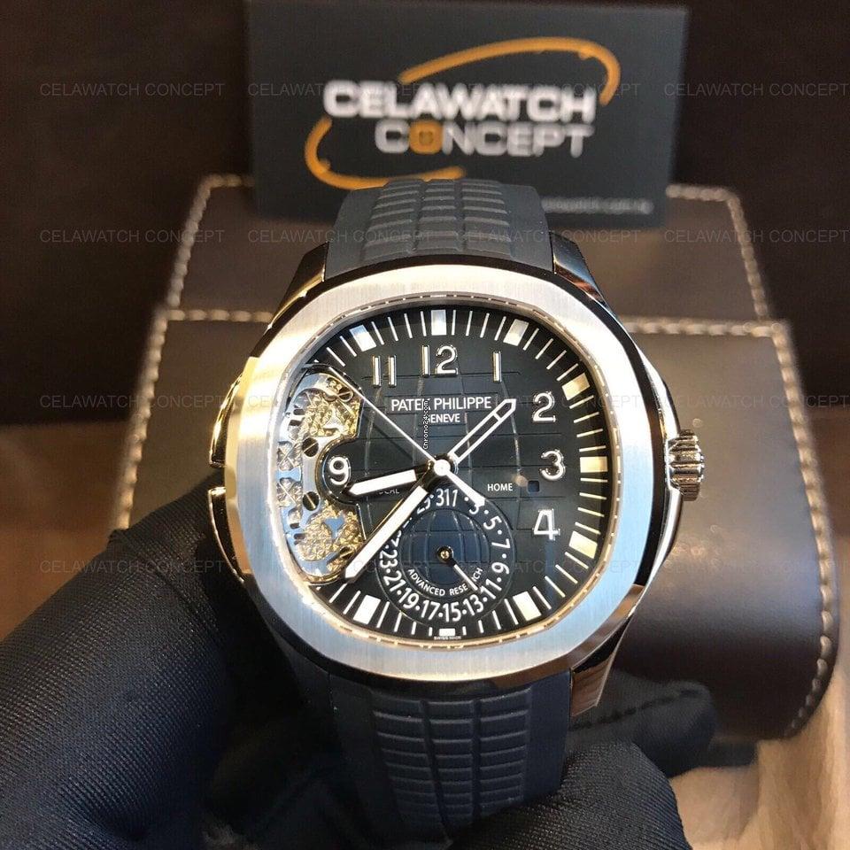 Patek Philippe Aquanaut 5650g Travel Time Advanced Research White Gold