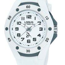 Lorus Plastic Quartz White 36mm new