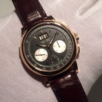 A. Lange & Söhne Datograph 405.031 Très bon Or rose 41mm Remontage manuel France, Paris