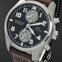 IWC Pilot Spitfire Chronograph Aço 43mm Castanho