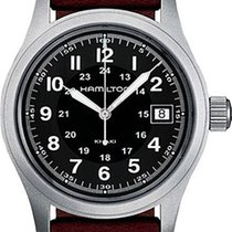 Hamilton H68411533 Steel Khaki Field new