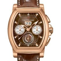 Carl F. Bucherer Chronograph 42mm Automatic pre-owned Patravi Brown