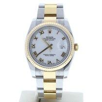 Rolex Datejust Gold/Steel 36mm White United States of America, Florida, MIami