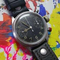 Hanhart Vintage Hanhart Flyback Chronograph 40er Jahre black dial