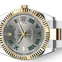 Rolex Datejust II occasion 41mm Or/Acier