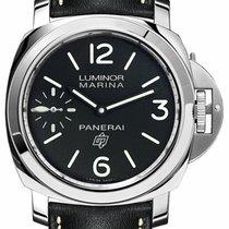 Panerai Luminor Marina neu 2019 Handaufzug Uhr mit Original-Box und Original-Papieren PAM 00776