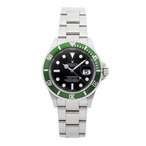 Rolex 16610LV Steel Submariner Date 40mm pre-owned