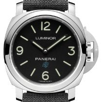Panerai Luminor Base Logo Steel 44mm Black Arabic numerals United States of America, New York, New York