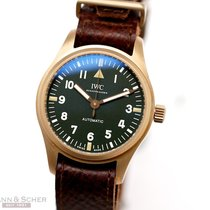 IWC Pilot's Watch Automatic 36 36mm Groen Arabisch