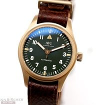 IWC Pilot's Watch Automatic 36 36mm Зелёный Aрабские