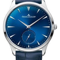 Jaeger-LeCoultre Master Grande Ultra Thin Steel 40mm Blue No numerals