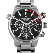 Maurice Lacroix Steel 43mm Automatic S PT6018-SS002-330-1 new
