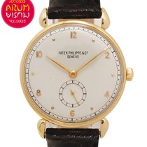Patek Philippe Vintage Yellow gold 31,5mm Silver