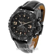 Breitling Chronospace Military Steel 46mm Black United Kingdom, London