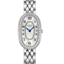 Longines Symphonette Steel 18.9mm Mother of pearl Arabic numerals