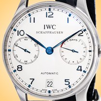 IWC IW5001-07 Steel Portuguese Automatic 42.3mm pre-owned United States of America, Illinois, Northfield
