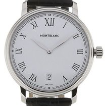 Montblanc Tradition Steel 36mm White