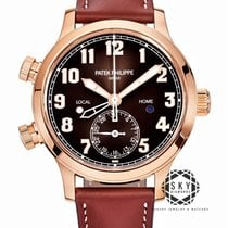 Patek Philippe Travel Time Rose gold 37.5mm Brown Arabic numerals United States of America, New York, New York
