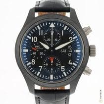 IWC Pilot Chronograph Top Gun Ceramic 44mm Black Arabic numerals