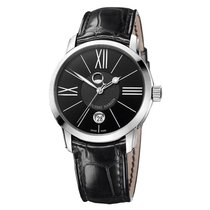 Ulysse Nardin Classico Luna neu Automatik Uhr mit Original-Box und Original-Papieren 8293-122-2/42