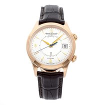 Jaeger-LeCoultre Master Memovox Rose gold 40mm Silver Arabic numerals