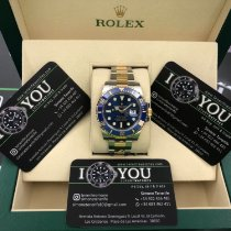 Rolex Submariner Date 116613LB New Gold/Steel 40mm Automatic