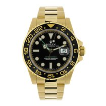 Rolex 116718LN Yellow gold 2008 GMT-Master II 40mm pre-owned United States of America, New York, New York