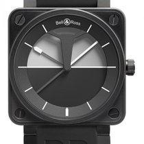 Bell & Ross BR 01-92 new Automatic Watch with original box and original papers BR0192-HORIZON