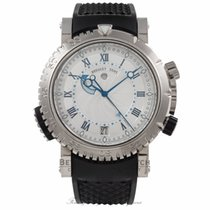 Breguet Marine White gold 45mm Silver No numerals United States of America, California, Beverly Hills
