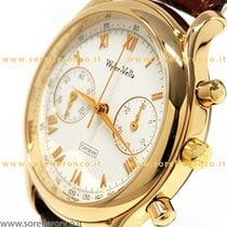 Wyler Vetta Chronograph Anniversaire Gold case manual winding ...
