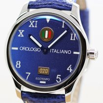 Egotempo Steel 45mm Automatic BLUE new