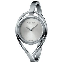 ck Calvin Klein Light Small Silver Tone Stainless Steel Watch